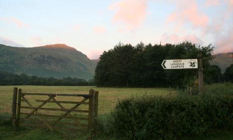 Great Langdale Camping, Cumbria