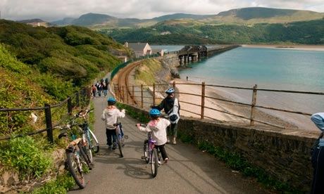 The mawddach trail cycle route