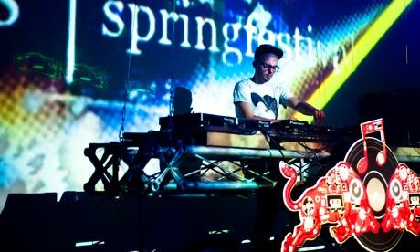 Springfestival in Graz, Austria