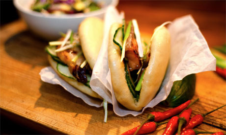 Yum bun street food, London