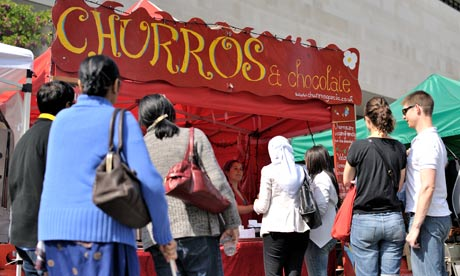 Churros Garcia street food, London