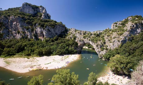 TV adventurer Ray Mears loves trekking in France's Ardèche