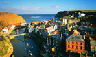Staithes, England, North Yorkshire