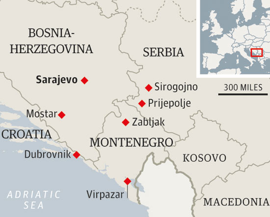 travel montenegro serbia bosnia balkans