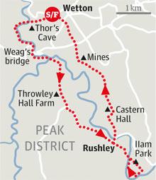 Manifold valley walk graphic