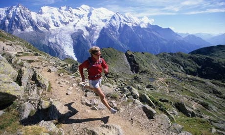 Trail running in the Alps | Travel | The Guardian
