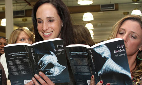Fifty Shades of Grey last month became the fastest-selling paperback since records began