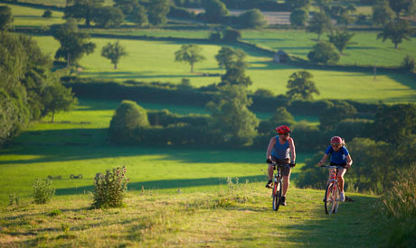 Cycling Dorset