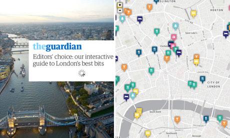 London City Guide composite