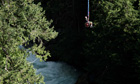 Wheelchair bungee jumping in Whistler, Canada