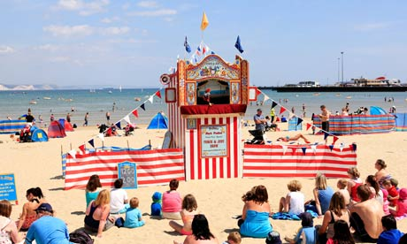 Old-fashioned fun: 10 traditional UK seaside breaks | Travel | The Guardian