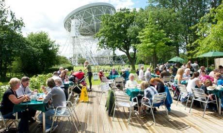 Planet Pavilion Cafe, Jodrell Bank, Macclesfield