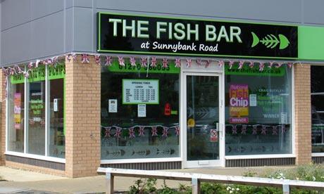 The Fish Bar at Sunnybank Road, Crewe, Cheshire