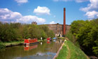 Cheshire Bollington narrowboats on Macclesfield Canal