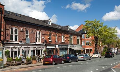 Alderley Edge village centre, Cheshire