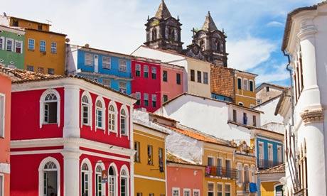 The Pelourinho old Salvador, Brazil