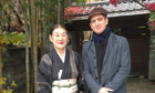 Marcel Theroux in Tokyo