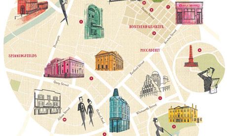 Locals Manchester map