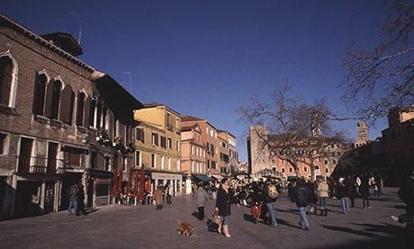 Campo Santa Margherita in Dosoduro, Venice