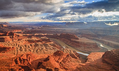 Sunset at Dead Horse Point, Utah