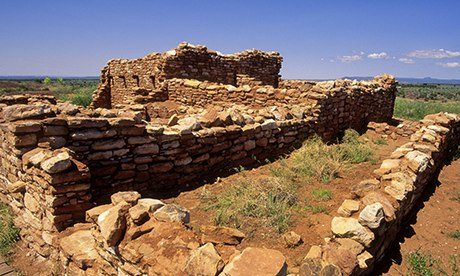 Ruins of an Anasazi pueblo Edge of the Cedars state park, Utah