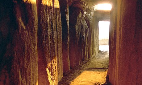 Where to experience the winter solstice: Ireland's prehistoric Newgrange tomb