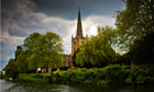Holy Trinity church on the river Stour, Stratford-upon-Avon