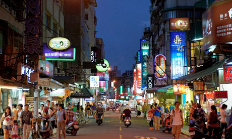 Yongkang Street in Taipei
