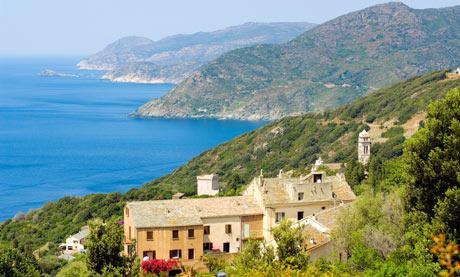 France, Haute Corse, Cap Corse, Pino
