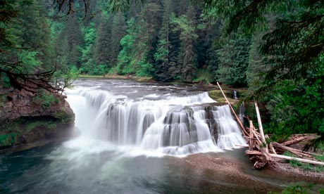 Lower Falls, Skamania, Washington