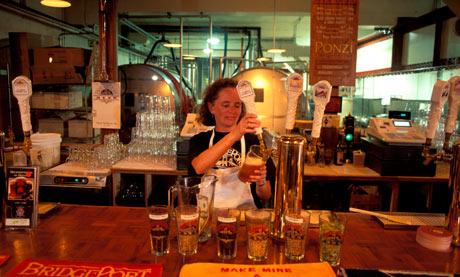 Bridgeport Micro Brewery Oregon