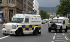 G8 summit: armed police on streets of Belfast