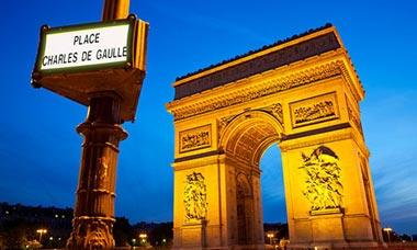 Arc de Triomphe, Place Charles de Gaulle, Paris