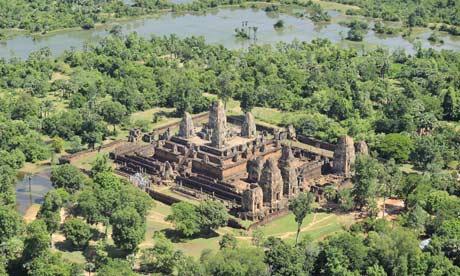 Pre Rup temple at Angkor, Cambodia