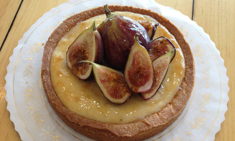 Fig and goat's cheese tart, Lucky's Bakehouse and Creamery&lt;br /&gt;&lt;br /&gt;&lt;br /&gt;<br />