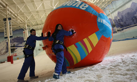 The Avalanche at the Chill Factore