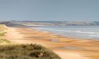 Sand dunes at Balmedie