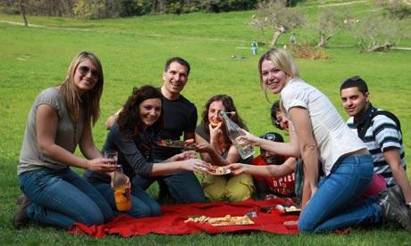 Kitchen Party picnic