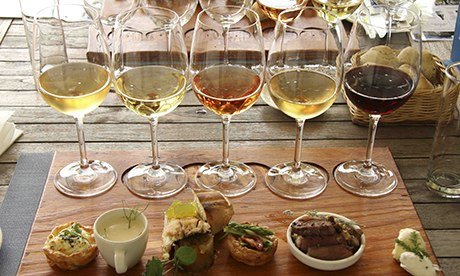 Wine pairing at Fyndraai Restaurant, South Africa