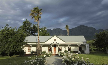 Guest cottage at Nabygelegen, South Africa