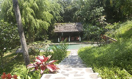 villa gamrang west java