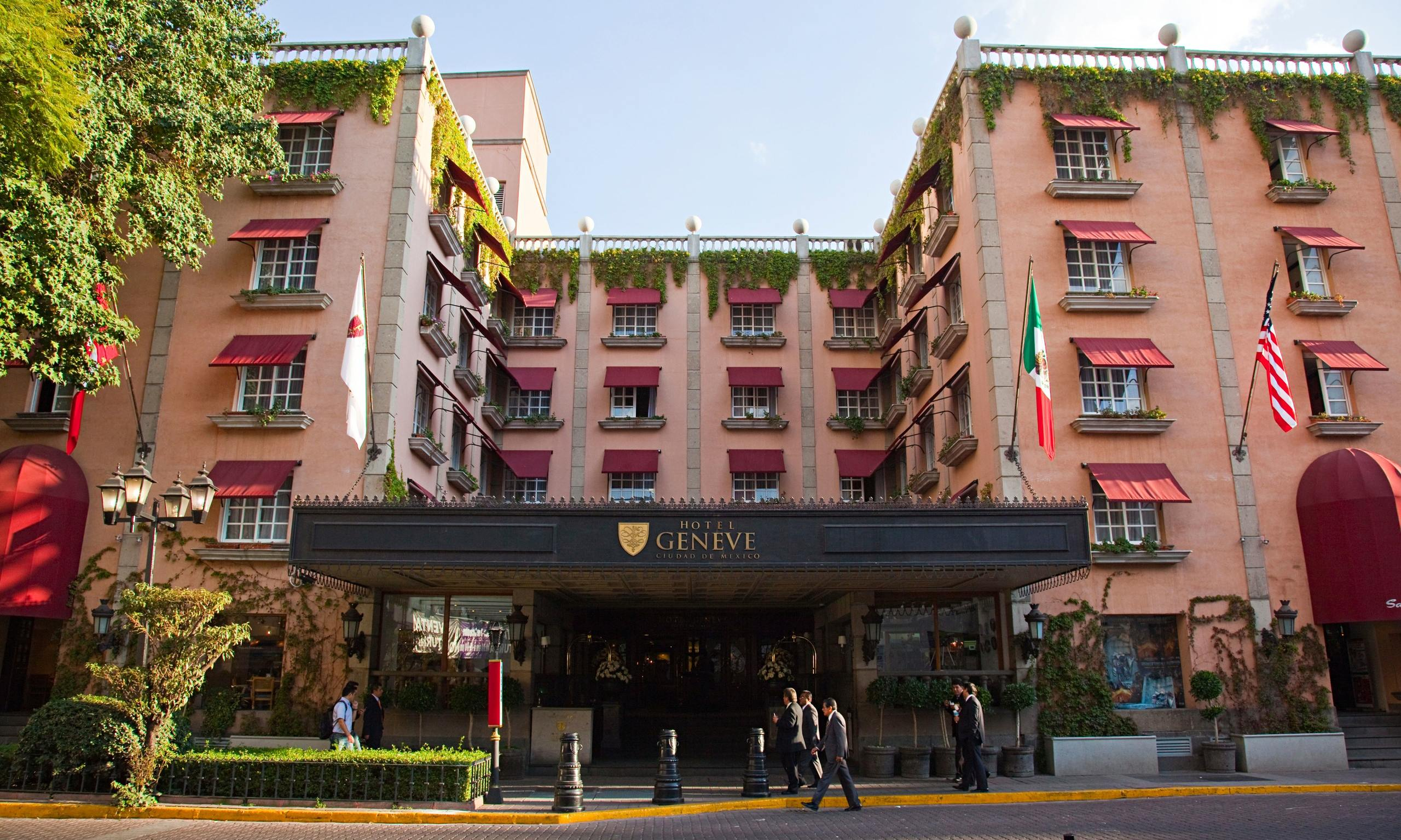 Top 10 budget hotels and b bs in mexico city travel for Design hotel f 6 genf