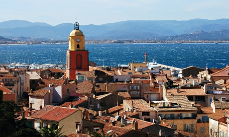 Saint-Tropez in France