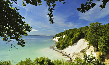 Chalk cliffs, Jasmund national park, Rügen, Germany