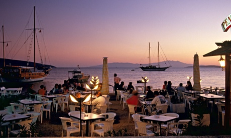 Bodrum Harbour, Turkey