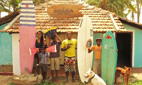 Ishita Malaviya and the Shaka Surf Club