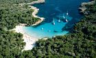 Cala En Turqueta. Menorca. Balearic Islands. Spain