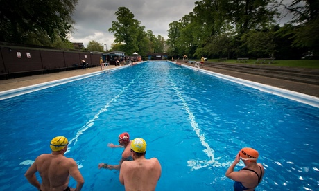 Uk lidos and urban swimming spots readers 39 tips travel the guardian Swimming pools in cambridge uk