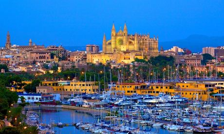 Cathedral and Harbour, Palma, Mallorca