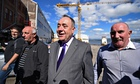 Alex Salmond shipyard visit